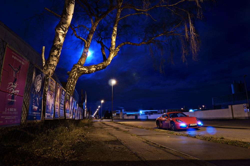 Nachtaufnahmen – und noch mal die Farbtemperatur