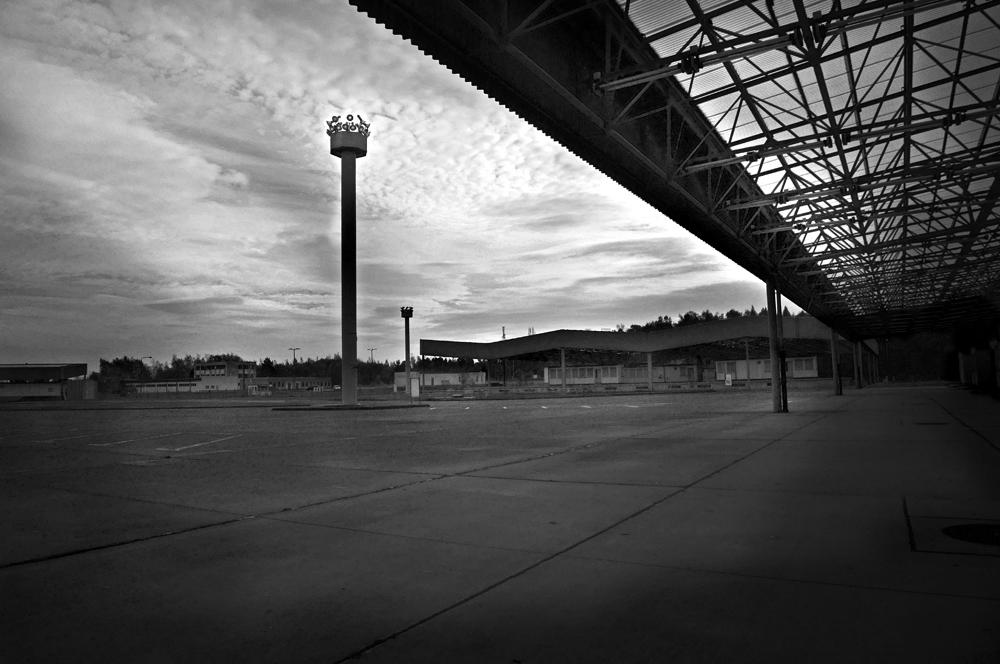 Autotour zu den Testtagen in Oschersleben, Bilder aus Marienborn