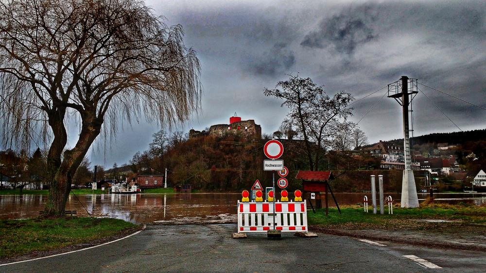 Hochwasser im Weserbergland