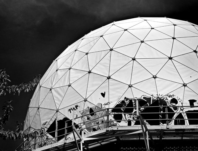 Foto Location: Teufelsberg Berlin